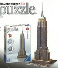 PUZZLE RAVENSBURGER 3D  SERIE MIDI 216 PEZZI EMPIRE STATE BUILDING   ART 12553