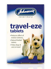 Johnsons TravelEze Reduce Motion Car Sickness in Dogs and Cats