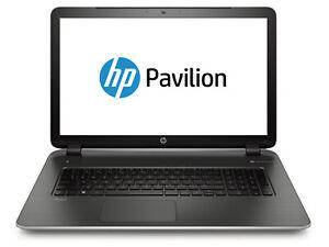 HP Pavilion 17- AMD A8, 8GB RAM, 1TB HDD, AMD HD Graphics, Win 10 + Warranty