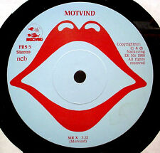 "MOTVIND - '80 Swedish press prog rock - 7"" / 45rpm - NM vinyl - LISTEN"