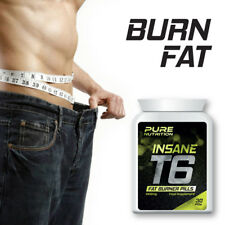 PURE NUTRITION T6 INSANE FAT BURNER PILLS – BURN FAT FAST WEIGHT-LOSS TABLET
