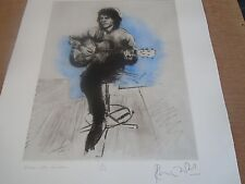 Rolling Stones Ronnie Wood MATCHED Set of 6 Prints All #2 Hand Signed Sold Out!!