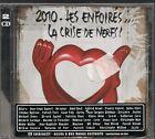 2 CD COMPIL 21 TITRES--LES ENFOIRES--2010 LES ENFOIRES LA CRISE DES NERFS