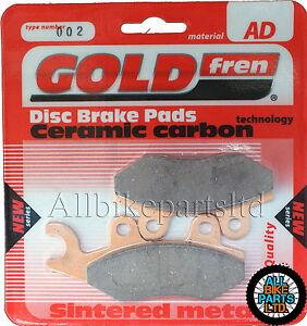 For Suzuki TS 200 R Front Sintered Brake Pads (1990 Onwards) Goldfren