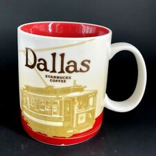 Starbucks Coffee Global Icon City Collector Series DALLAS Soccer Mug Cup Texas