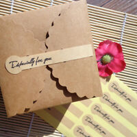 flowers thank you stickers for scrapbooking packaging seal labels stationery Hs