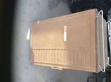 Vintage Coleman Convertible Standing Ice Cooler Refrigerator Ice Box