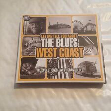 Various Artists - Let Me Tell You About The Blues (West Coast, 2010) CD X 3