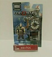 "Mega Construx Black Series Heroes - God of War - 2"" Kratos Action Figure GNV37"