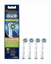 4x NEW Braun Oral B Cross Action Toothbrush Replacement Heads 4 PCS Crossaction