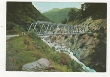 Gates of Haast Westland Postcard New Zealand 582a