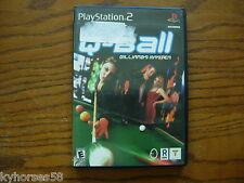 Playstation 2 Game Q-Ball Billiards Master