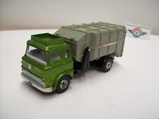 Bedford Refuse Wagon, 1970, greenmetallic, Dinky-Toys (Made in England)