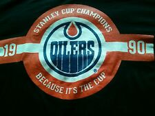 Edmonton Oilers Coors light T-shirt NHL Because its the Cup  Connor McDavid