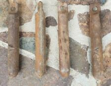 4 Old Cast Iron Window Weights Industrial Salvage Vintage