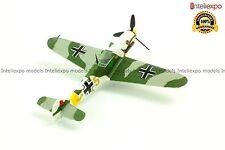 Messerschmitt Bf 109F-4 1942 German Fighter Plane Diecast Model New 1/72 No 9