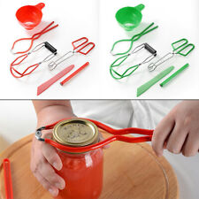 4pcs Canning Jar Lifting Tool Kit Lifting Canning Jar Tongs With Other Tools Wid