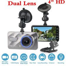 1080P coche DVR Cámara en Tablero de doble lente delanteras y traseras de Video Grabadora Visión Nocturna G-Sensor