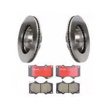 Toyota Tundra 00-06 Front Left and Right Brake KIT Rotors & Pads for 13WL Brembo