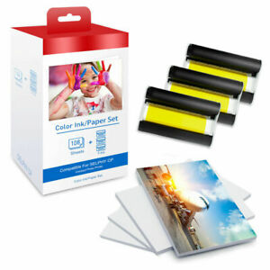 1Set KP-108IN RP-108IN Ink &Photo Paper Compatible for Canon Selphy CP 1300 1200