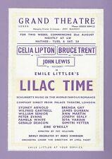 "Franz Schubert ""LILAC TIME"" Celia Lipton / Bruce Trent 1949 Leeds, England Flyer"