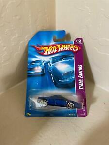 Hot Wheels 2008 Enzo Ferrari, Team Exotics #114/196, Blue  N12
