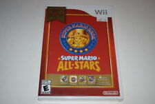 Super Mario All-Stars Nintendo Selects Nintendo Wii Video Game New Sealed