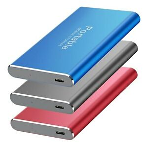 USB 3.0 8TB , 4TB SSD External Hard Drive Mobile Solid State Speed Hard Disk SSD