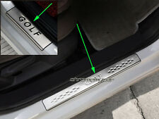 4 Stainless Steel Door Sill Scuff Plate Protector for Volkswagen VW Golf 7 MK7