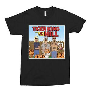 Joe Exotic Tiger King of the Hill T Shirt Usa Funny Movie Film Netflix Retro