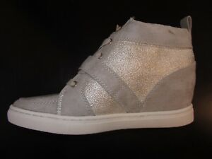 Jennifer Lopez Sz 8.5 Hidden Wedge Ankle Boot Athletic Style Taupe 79.99