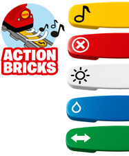 LEGO DUPLO Train Track - Action Brick (Various Types Available)