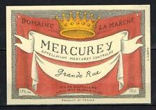Etiquette de Vin - - Mercurey - Domaine Lamarche - New - Never Stuck - Réf.n°9