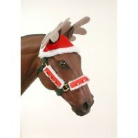 Gift Corral Holiday Reindeer Hat - Attaches to Halter or Bridle Crown