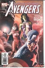 Marvel Comics AVENGERS #66 / 481 (2003) Geoff Johns and Oliver Coipel Red Zone 2