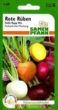 """Rote Rüben """"Hulla Hupp Mix"""" - farbenfrohe Mischung - Rote Beete Gemüse Samen"""