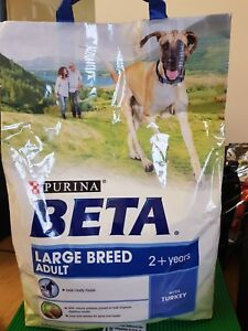 purina beta large breed adult 2+years 2.5kg with turkey