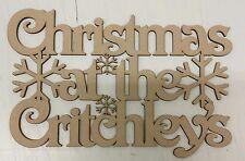 Navidad en el 'apellido' Placa
