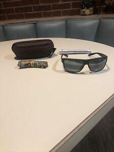 Maui Jim Wrap Sport With Matte Black Dark Grey Lens Sunglasses Sale Pohaku