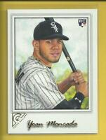 Yoan Moncada RC 2017 Topps Gallery Rookie Card # 15 Chicago White Sox Baseball