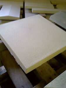 450mm x 450mm Textured square edge paving - Various colours