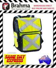 Brahma Caribee Pilbara Hi Vis Yellow Backpack work cycle Trek Gear Bag (11803)