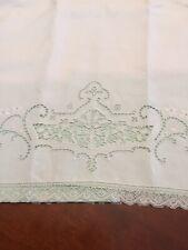 More details for antique irish linen bolster