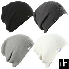 Slouch Slouchy Beanie Three Style Converting Hat Baggy Style Folded or Up Style