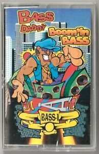 BASS DADDY Boomin Bass SEALED Down South Rap G-Funk Tape Pandisc Records 1993