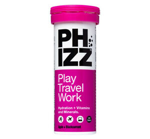 Phizz Apple & Blackcurrant Multivitamin Hydration Tablets x 10