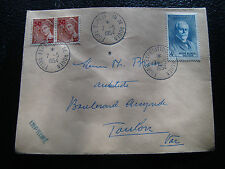 FRANCE - enveloppe 7/5/1954 (cy53) french