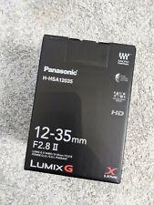 Panasonic Lumix G X Vario 12-35mm F/2.8 II OIS - MFT / Micro Four Thirds