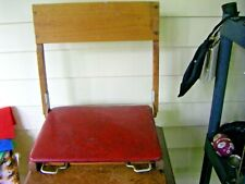 Vintage Sauder Wooden Folding Canoe Boat Seat Chair