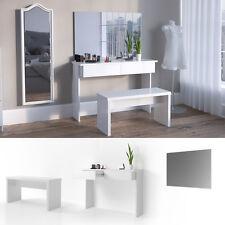 VICCO Schminktisch AZUR Weiß Hochglanz - Kosmetiktisch Frisiertisch Spiegel